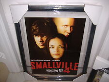 Smallville WB TV Promotional Poster DC Comics -Season 3 / 1 & 2 dvd promo