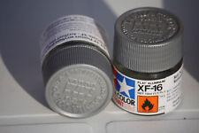 Tamiya Peinture Pot 10ml XF16 Aluminium Mat
