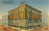 Postcard Hotel Claypool, Indianapolis, IN