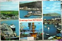 Scotland Greetings from Rothesay - posted 1983