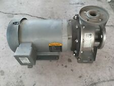 Ebara stainless steel pump ,Baldor motor 5hp,3450rpm 208/230/460V