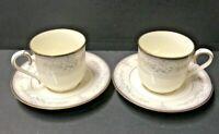 Noritake CHURCHILL Cup & Saucer  Set of 2