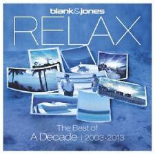 BLANK & JONES - RELAX-THE BEST OF. A DECADE 2003-2013  (2 CD)  DISCO/DANCE NEU