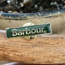 NEW GENUINE BARBOUR JACKET PIN BADGE .