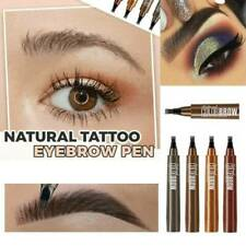 Women Natural 4 Points Tattoo Eyebrow Pen Thrush 5 colors to choose