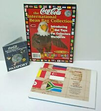 Beanie World Coca Cola International Bean Bag Collection Magazine Map & Passport