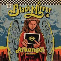 ARKANGEL: BLACK MIRROR - GISHAM,MARK   VINYL LP NEW+