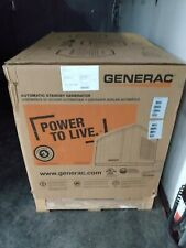 GENERAC Generator whole house standby 7.5 kw with transfer switch brand new