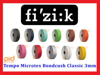 Fizik Tempo Microtex Bondcush Classic 3mm Performance Bike Handlebar Bar Tape