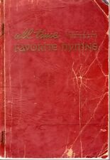 ALL TIME FAVORITE HYMNS compiled by JIMMIE DAVIS 1965 PB Hymnal SHAPE NOTES