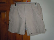 GAP women's cotton linen casual beige shorts size 6