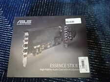 ESSENCE STX II ASUS Hi-Fi Quality Sound Card with Headphone Amp US seller