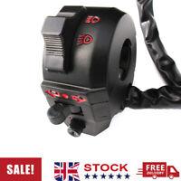 Left Side Motorcycle Handlebar Switch Indicators Horn-Hi Low Beam Head Light
