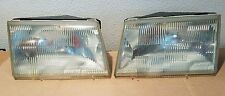 1987 1988 87 88 Ford Thunderbird T-Bird Headlights Turbo Coupe LX Sport PAIR