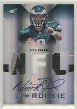 2012 Absolute Premiere Materials NFL Prime Signatures /25 Nick Foles Rookie Auto