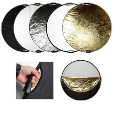 """Photo Studio 110CM 43"""" 5-in-1 Photography Multi Disc Collapsible Light Reflector"""