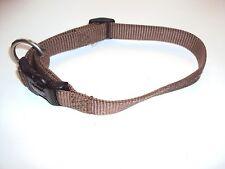 Wolters Nylonhalsband Hundehalsband braun 28-45cm/20mm