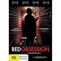 RED OBSESSION Narrated by Russell Crowe DVD NEW