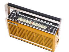 Grundig PRIMA BOY LUXUS Transistor Radio Kofferradio gelb