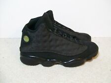 SZ12 Air Jordan 13 XIII Black Cat 414571-011 Bred Flint Playoff XII Flu Game XI