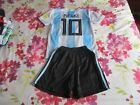 Messi #10 Argentina Home Kit 2018-19 age 9/10 years *read description*