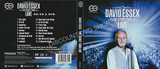 David Essex The Secret Tour. Live. 2 Disc Set 1 DVD & 1 CD. New Item