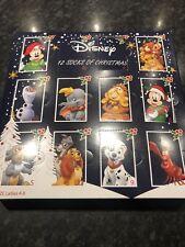Disney 12 Socks Of Christmas Advent Calendar - Brand New