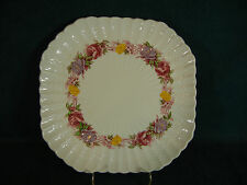 "Copeland Spode Rose Briar 8 5/8"" Square Luncheon Plate(s)"