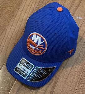 Men's New York Islanders Fanatics Authentic Pro Rinkside Stretch Hat NWT M/L