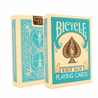 Turquoise Bicycle Cards - Bicycle Deck - Rider Back USA Made - Poker Size