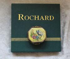 "Limoges-Rochard ""Butterfly Box"" Limoges Box Mib"