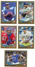 2013 Topps Update Gold #/2013 Brandon Morrow Toronto Blue Jays US 287