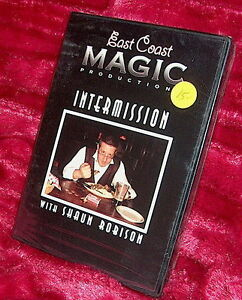 dvd Factory Sealed! INTERMISSION WITH SHAUN ROBISON Coin MAGIC