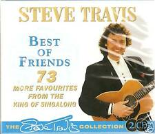 STEVE TRAVIS BEST OF FRIENDS CD 2 CD BOX SET