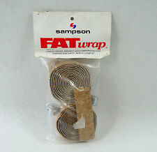 Sampson handlebar tape bar tape cork ribbon natural FAT WRAP padded fatwrap NOS