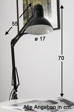 Lampada da scrivania Design Lume da tavolo Nero Moderno Direzionabile NEW 44867