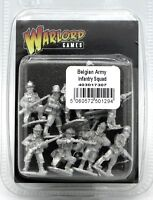 Bolt Action 403017307 Belgian Army Infantry Squad (WWII) Early War Section NIB