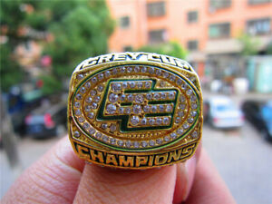2003 Edmonton Eskimos The Grey Cup TEAM Ring Fan Men Gift