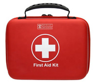 Musclemender 120 Piece Premium First Aid Kit Emergency Medical Bag Travel Work