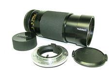 Tamron Adaptall 2 CF Tele Macro 80-210mm 1:3.8-4 Zoom Lens w/ C/Y Mount