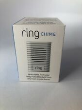 Ring Chime Wi-Fi Enabled Indoor Door Bell iOS Android No Adapters New