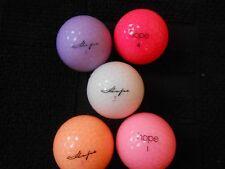 "20 WILSON ""HOPE PEARLISED"" - Golf Balls -MINIMUM 4 COLOURS -""PEARL/A"" Grades."