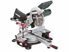 METABO 110V 1500W 216MM SLIDING COMPOUND MITRE CUTTING SAW KGS-216MN NEW