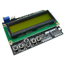 Yellow Backlight 1602 LCD Board Keypad Shield for Arduino ATMEGA328 2560 Robot