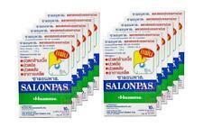120 Salonpas Hisamitsu Pain Relief Post Neck Shoulders HEAT Patches (6.5x4.2cm)