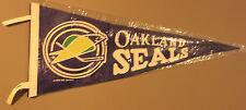 Vintage 1970 | Oakland Seals Soft Felt | 30x12 Pennant