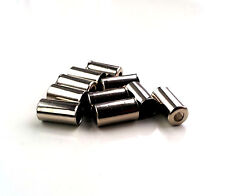 10 x Outer Bicycle Bike Brake Gear Cable Wire Ends 5mm Metal Ferrules SILVER