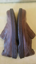 Merrell Men's World Legend Stollen Loafers Brown Leather Low Top Shoe Size 12