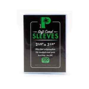 100 Soft Sleeves TCG Grading PSA (Regular Size) Penny - Palms Off