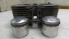 69 Honda CL350 K1 Scrambler CL 350 HM534B. Engine top end cylinders jug pistons